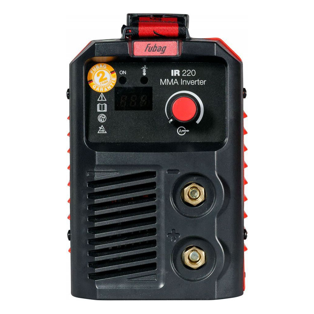 Сварочный аппарат FUBAG IR 220 (220В ММА 5-220А 1.6-5.0мм)