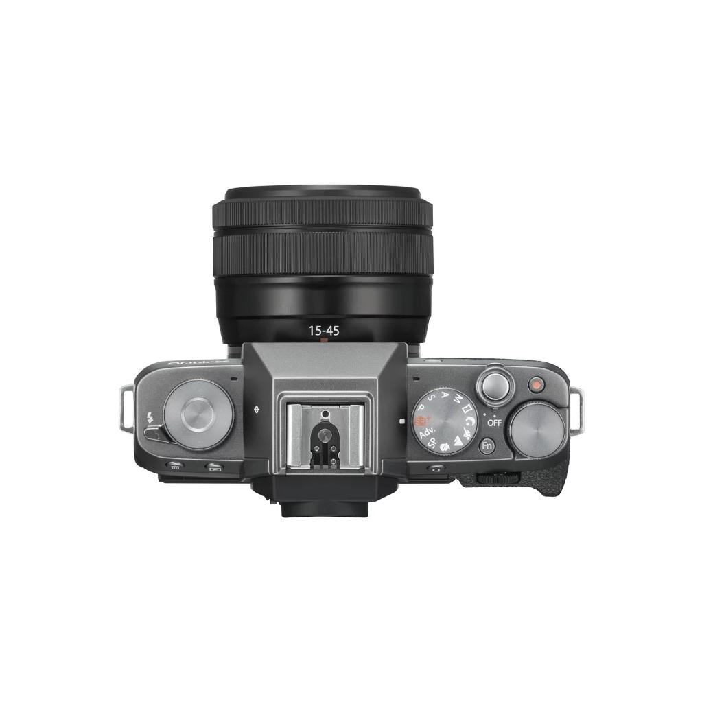 Фотоаппарат Fujifilm X-T100 Kit 15-45mm темное серебро
