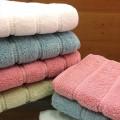 Полотенце махровое Buddemeyer Caro Lux Baby Skin Особая нить 1011 77х150 белое