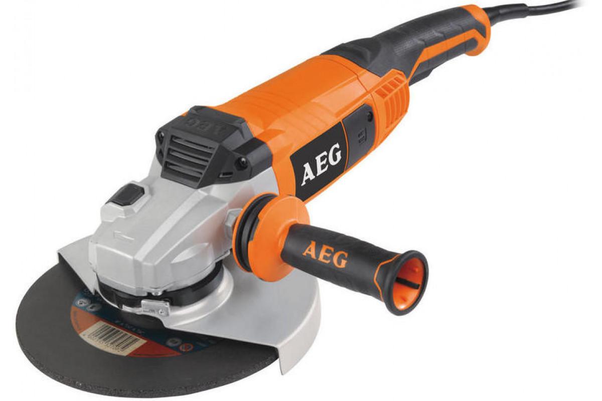 Углошлифовальная машина AEG WS 2200-230 DMS  2200Вт 6600об/мин 230мм
