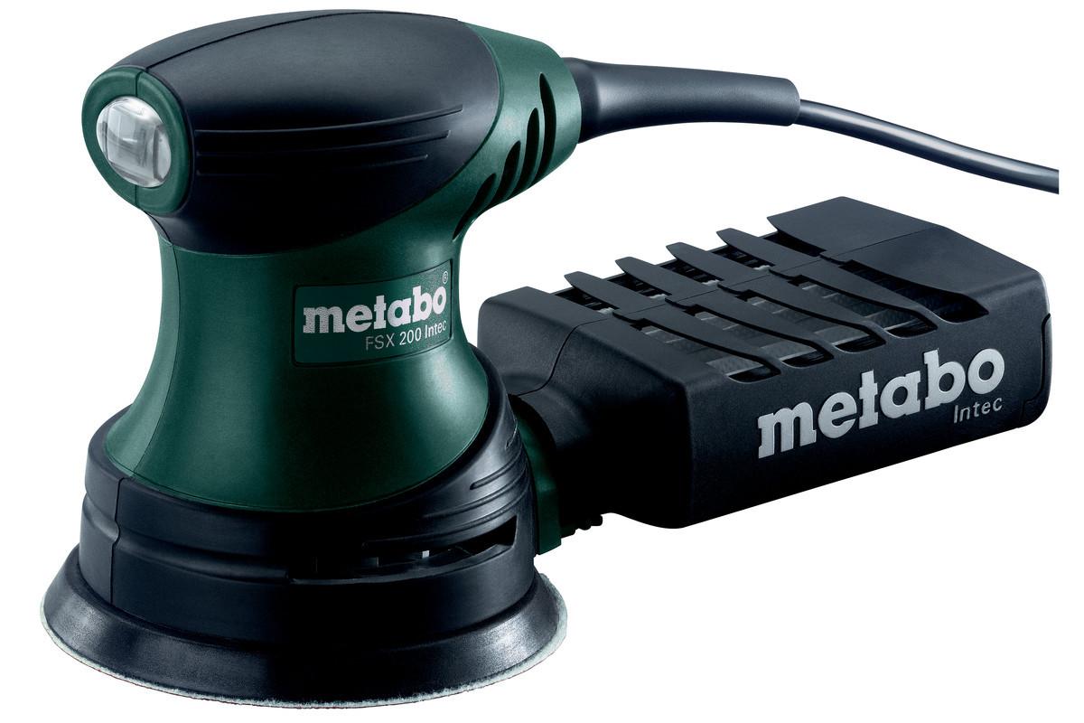 Шлифмашина орбитальная Metabo FSX 200 Intec (609225500)  240Вт 11000об/мин диам.125мм в кейсе