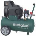 Компрессор Metabo Basic250-24WOF (601532000)  1.5кВт 220л/мин 8Бар ресивер 24л безмасленный