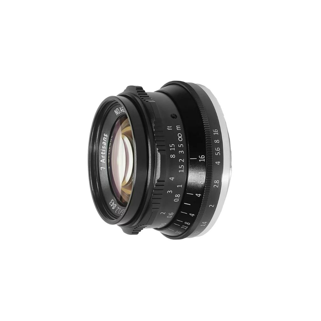 Объектив 7Artisans 35mm F1.2 Micro 4/3 черный