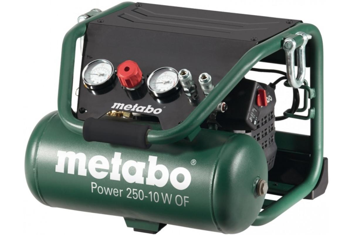 Компрессор Metabo Power250-10WOF (601544000)  1.5кВт 10л 220л/мин