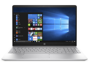 "Ноутбук HP Pavilion 15-ck008ur <2PP71EA> i7-8550U (1.8)/8Gb/1TB+128Gb SSD/15.6""FHD IPS/NV MX150 2GB/No ODD/FHD IR Cam/Win10 (серебряный)"