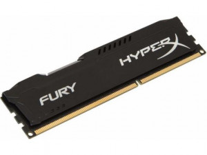 Память оперативная DDR3 4Gb Kingston 1333MHz HX313C9FB/4 CL9 DIMM HyperX FURY черная
