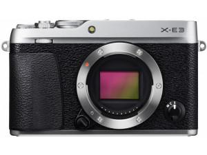 Фотоаппарат Fujifilm X-E3 body, серебро
