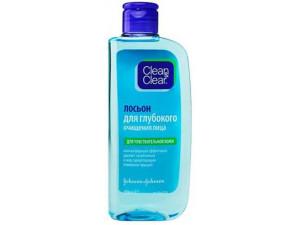 Clean&Clear лосьон для глубокого очищения лица для чувствительной кожи 200 мл.