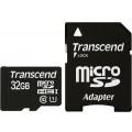 Карта памяти Transcend microSDHC 32GB Class 10 UHS-I U1 (45Mb/s) + ADP