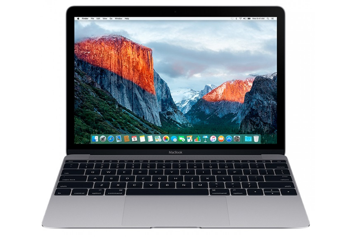 "Ноутбук Apple MacBook Серый Космос Mid 2017 [MNYG2RU/A] 12"" 2304x1440, Intel Core i5 7Y54 1,3ГГц, 8192Мб, SSD 512Гб"