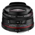 Pentax Limited HD DA 15mm f/4 ED AL черный