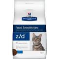 Корм для кошек для лечения острых пищевых аллергий Hill's Prescription Diet Z/D, курица, 2 кг