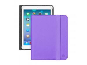 Чехол-подставка для планшетов и электронных книг Wallet Corner 7''-8'', фиолетовый, Deppa