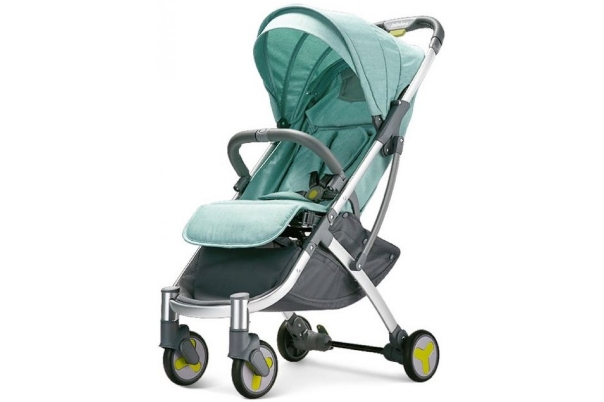Xiaomi BEBEHOO START Lightweight Four-wheeled Stroller - прогулочная коляска, зеленый