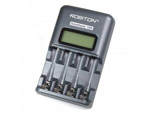 Зарядное устройство Robiton Smart Display 1000 BL1 унив. для AA/AAA