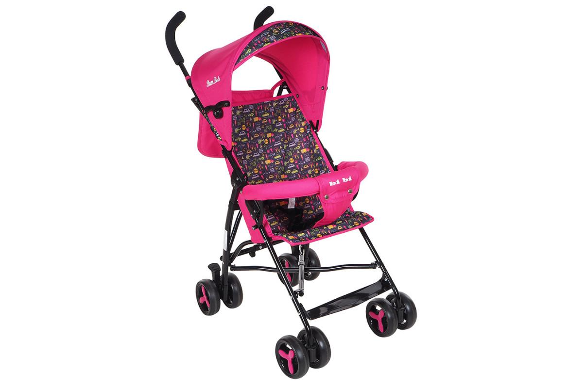 BamBola B200 BI-BI - прогулочная коляска розовая