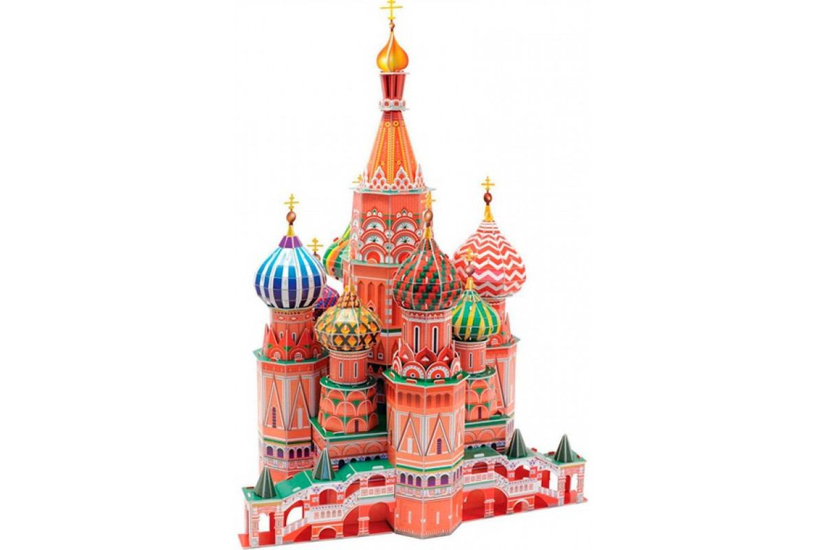 CubicFun 3D пазл Игрушка Собор Василия Блаженного (Россия)