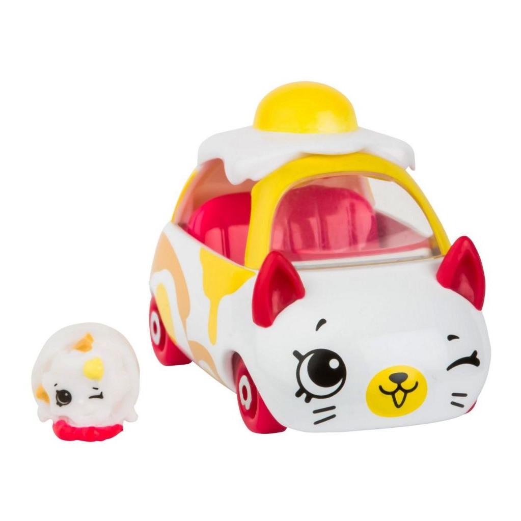 Moose Машинка Cutie Cars Egg cart с фигуркой Shopkins