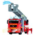 Dickie Пожарная машина, фрикц.., св., зв.,вода