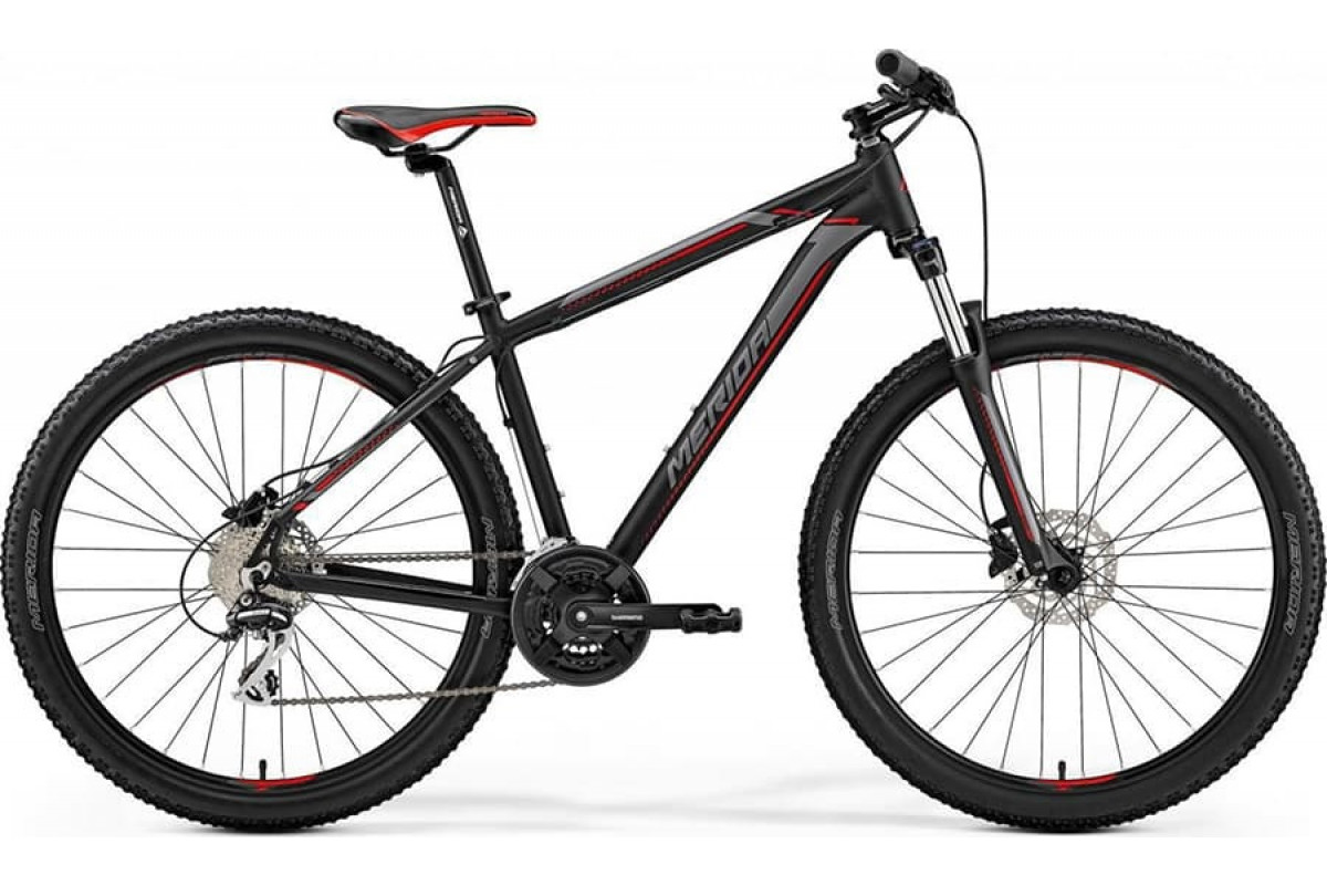 "Велосипед Merida Big Seven 20-D Matt Black (Red/Silver) 2019 XS(13.5"")(93618)"