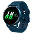 Умные часы Dt №1 DT88, силиконовый ремешок, синий