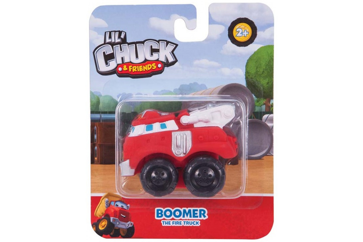 Chuck & Friends машинка 5 см в блистере, Бумер