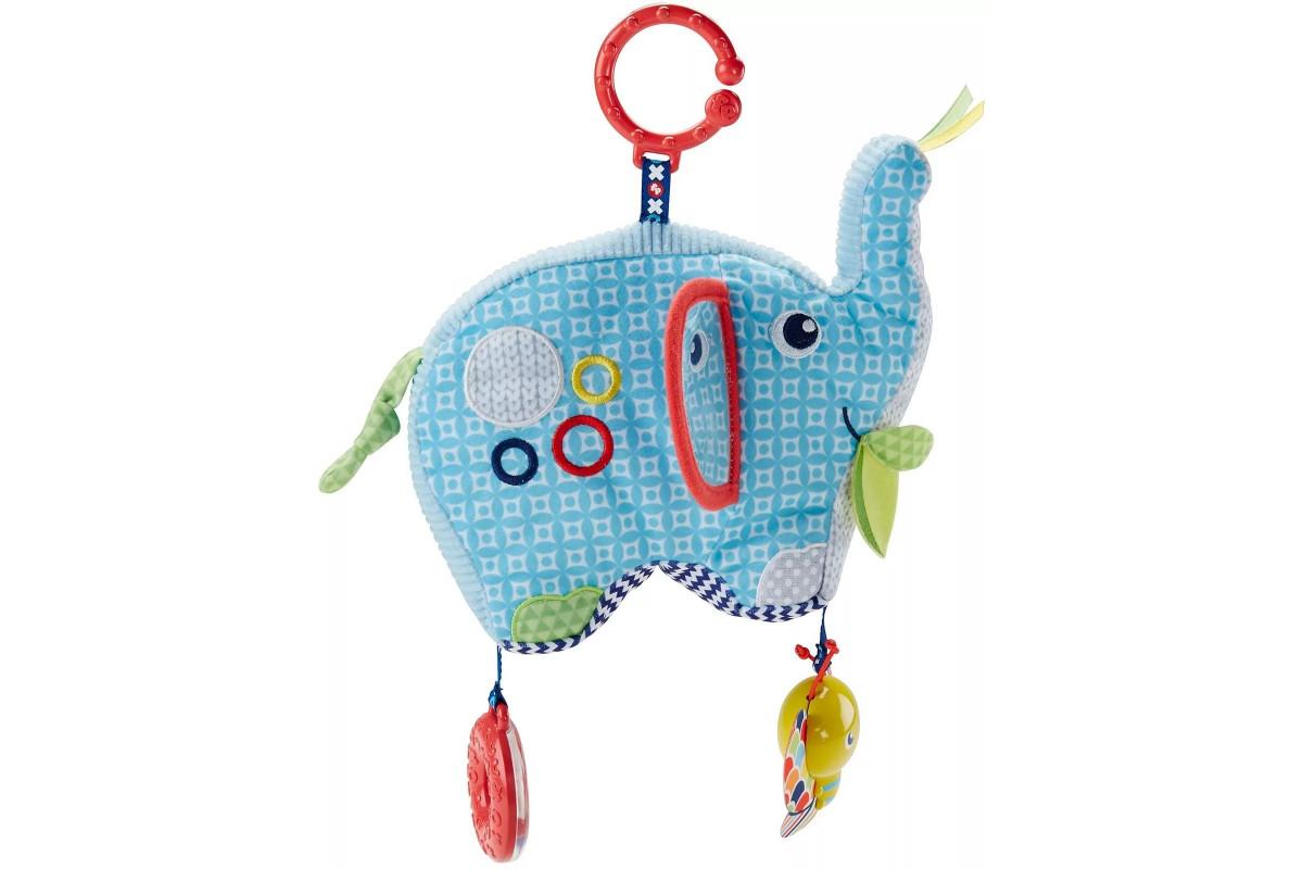 Fisher-Price Слоненок Плюшевая игрушка DYF88 Mattel