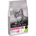 Корм для взрослых кошек с чувствительным пищеварением ProPlan Delicate, ягненок, 1,5 кг