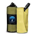 Полотенце спортивное охлаждающее RoadLike Camp 70*140 см желтый