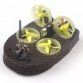 Квадрокоптер Realacc Tiny Whoover TW65S FPV Advanced Mode DSMX Receiver, черно-желтый