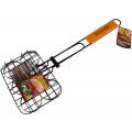 Решетка-гриль для гамбургеров DIOLEX DX-G1911-B (20x15см,сталь с хромированным покрытием)