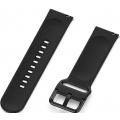 Силиконовый ремешок для часов Small One для Huami Amazfit GTS, черный, 20 мм