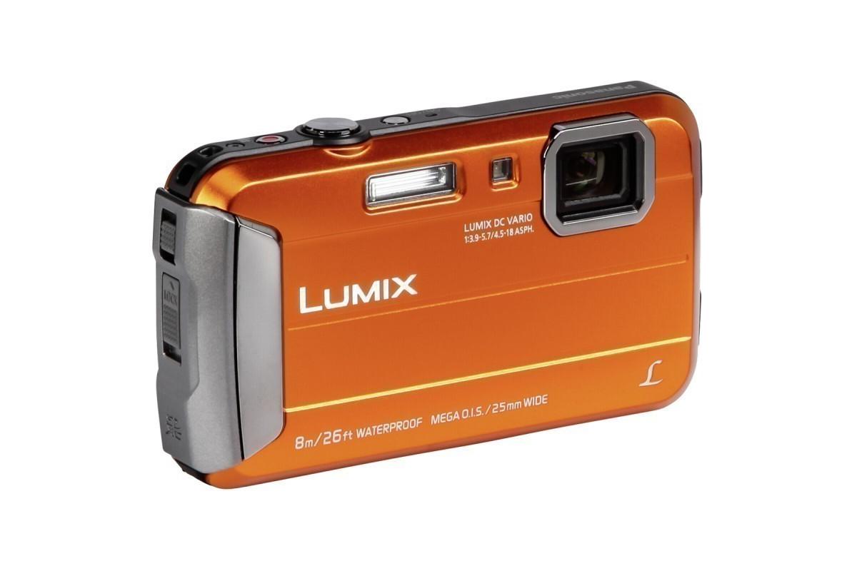 Цифровой фотоаппарат Panasonic Lumix DMC-FT30, оранжевый