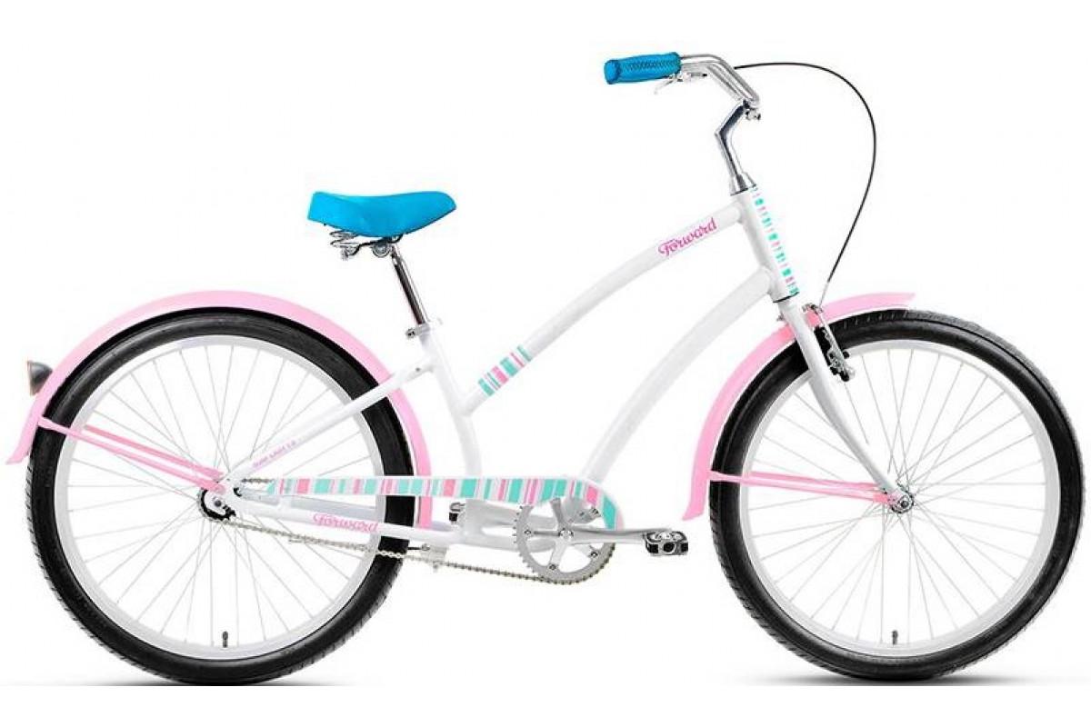 "Велосипед 26"" Forward Surf Lady 1.0 16-17 г 15' Белый"