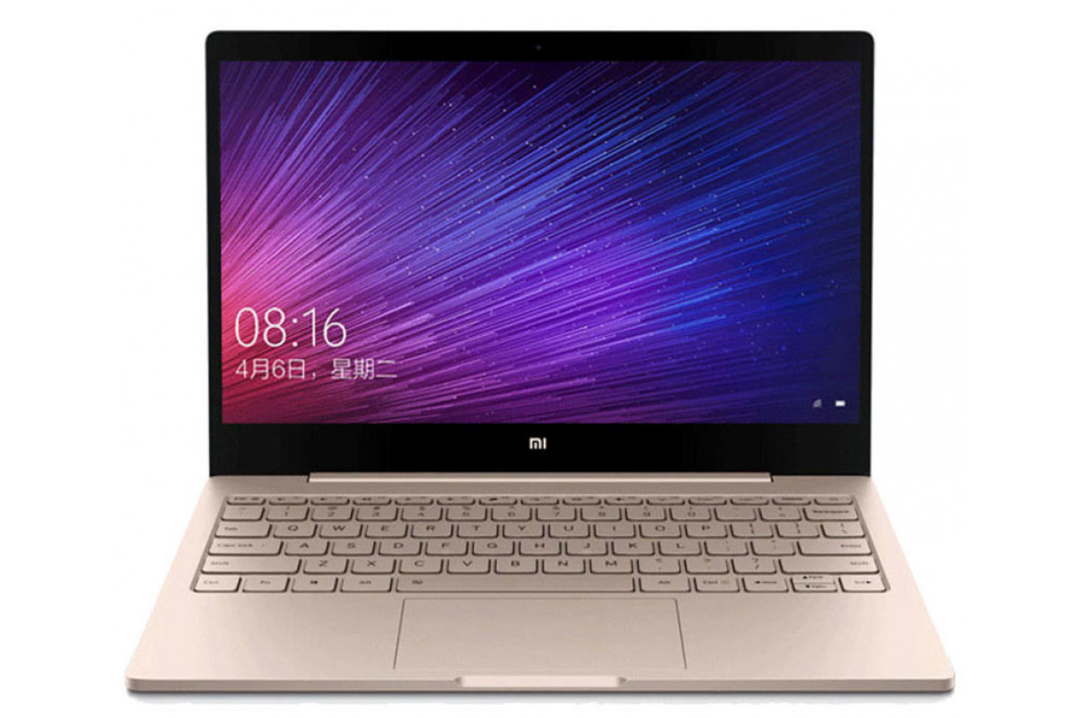 "Ноутбук Xiaomi Mi Notebook Air 12.5"" (Intel Core m3 7Y30 1000 MHz/1920x1080/4Gb/128Gb SSD/Intel HD Graphics 615/Wi-Fi/Bluetooth/Win10 Home) gold"