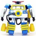 Robocar Poli Поли трансформер 10 см и костюм водолаза