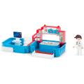 Игровой набор EFKO больница с фигуркой медсестрой в чемоданчике