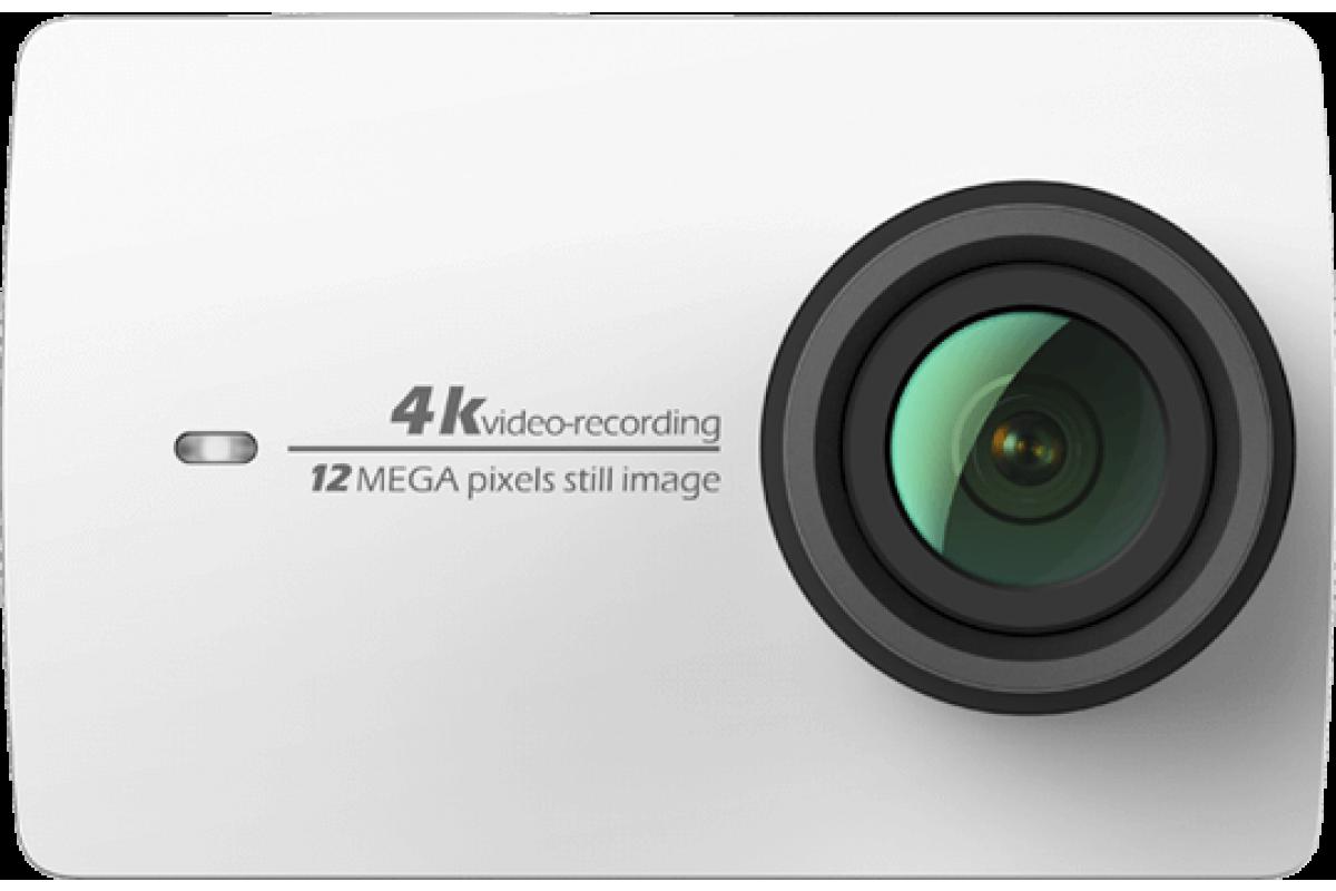 Экшн камера YI 4K Travel Edition, белая EU
