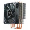 Кулер для процессора Deepcool GAMMAXX 400 BLUE BASIC Soc-FM2+/AM2+/AM3+/AM4/1150/1151/1155/ 4-pin 18-30dB Al+Cu 130W 640gr LED Ret
