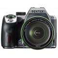 Зеркальный фотоаппарат PENTAX K-70 + обьектив DA 18-135WR silky silver