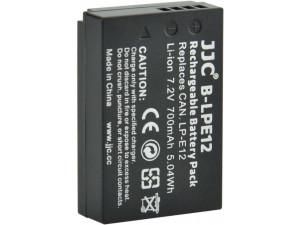 Аккумулятор JJC B-LPE12 (700 mAh) для EOS 100D, EOS M, M2, M10, M100, PowerShot SX70 HS