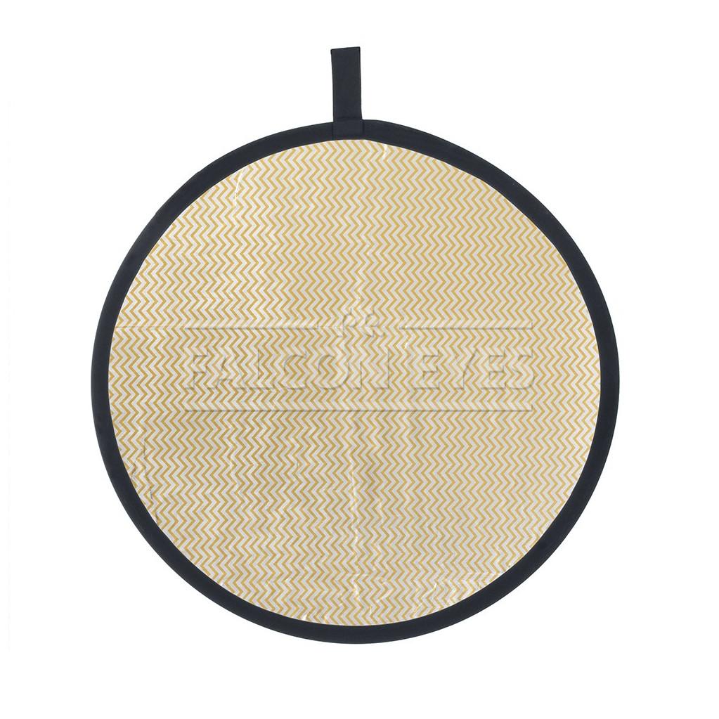 Отражатель Falcon Eyes CFR-32M HL золотисто-серебристый в полоску 82см