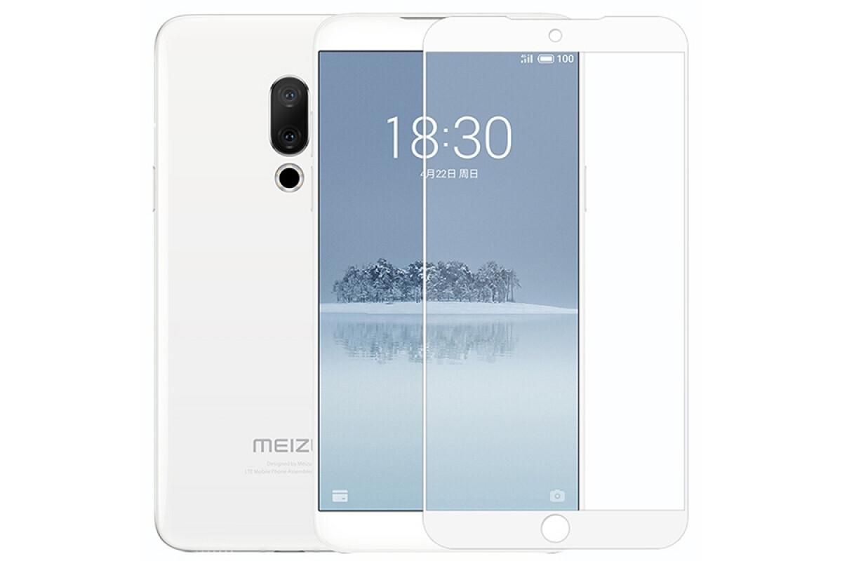 Защитное стекло для Meizu 15 Full Screen Glass White, TFN