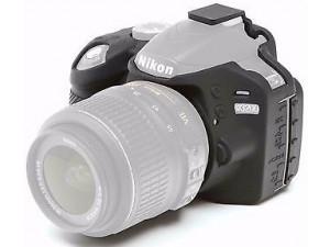 Силиконовый чехол easyCover для Nikon D3300 / D3400, черный