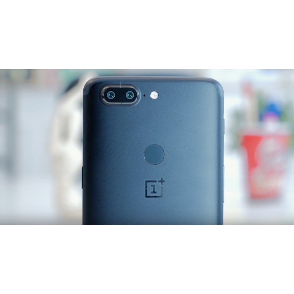 Смартфон OnePlus 5T 128Gb Black (Черный) EU