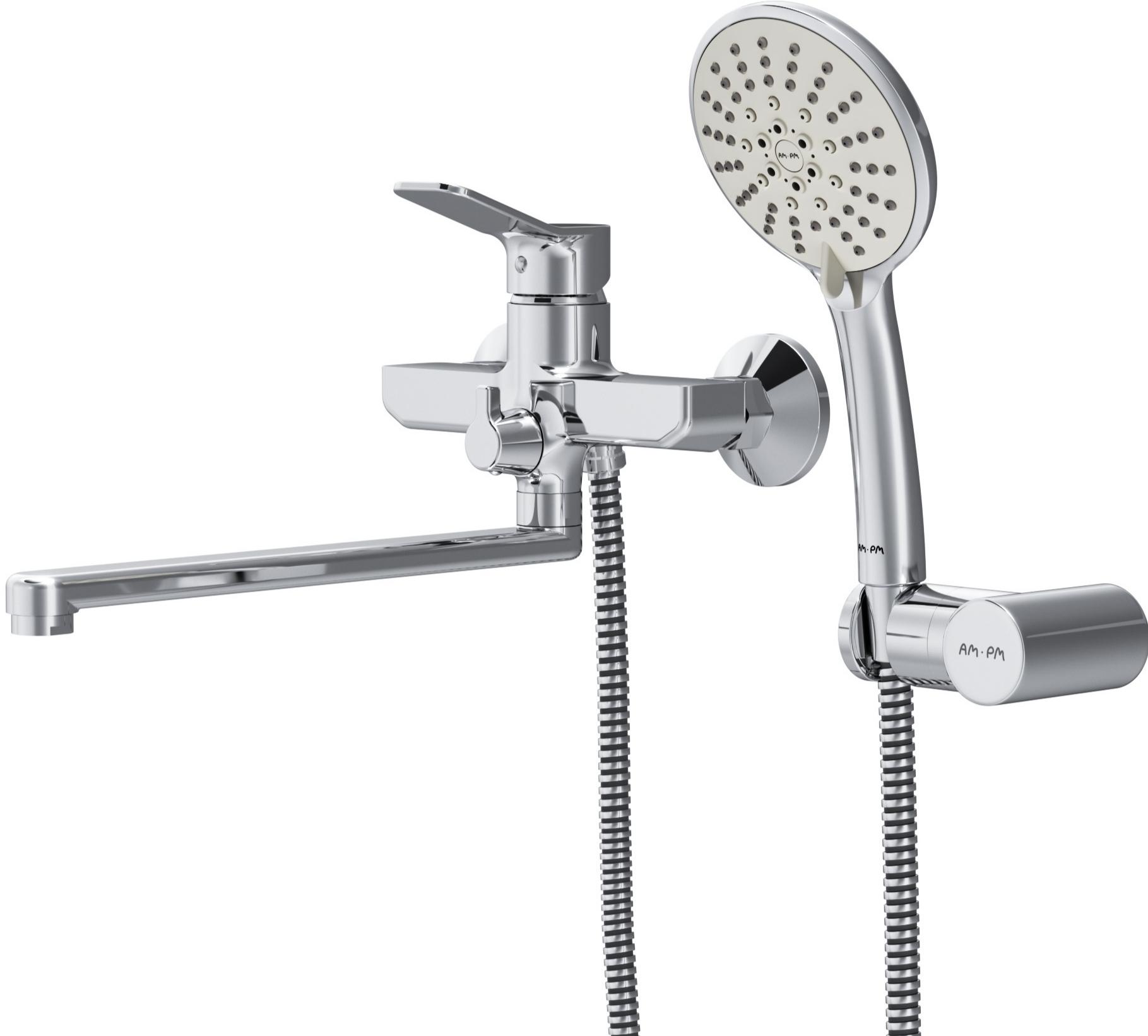 Смеситель для ванны и душа AM.PM коллекция X-Joy, F85A95000