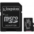 Карта памяти Kingston microSDXC Canvas Select Plus Class 10 UHS-I U3 (100/85MB/s) 256GB