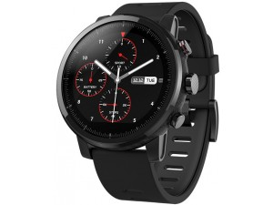 Умные часы Xiaomi Huami Amazfit Stratos, черные уценка 2222