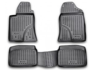 Коврики в салон Element для TOYOTA Avensis 04/2003-2009, 4 шт. (полиуретан)