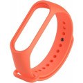 Ремешок силиконовый для Mi Band 4, оранжевый